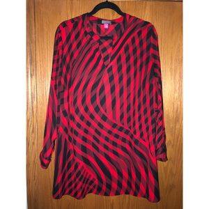Vince Camuto Tunic Length Blouse